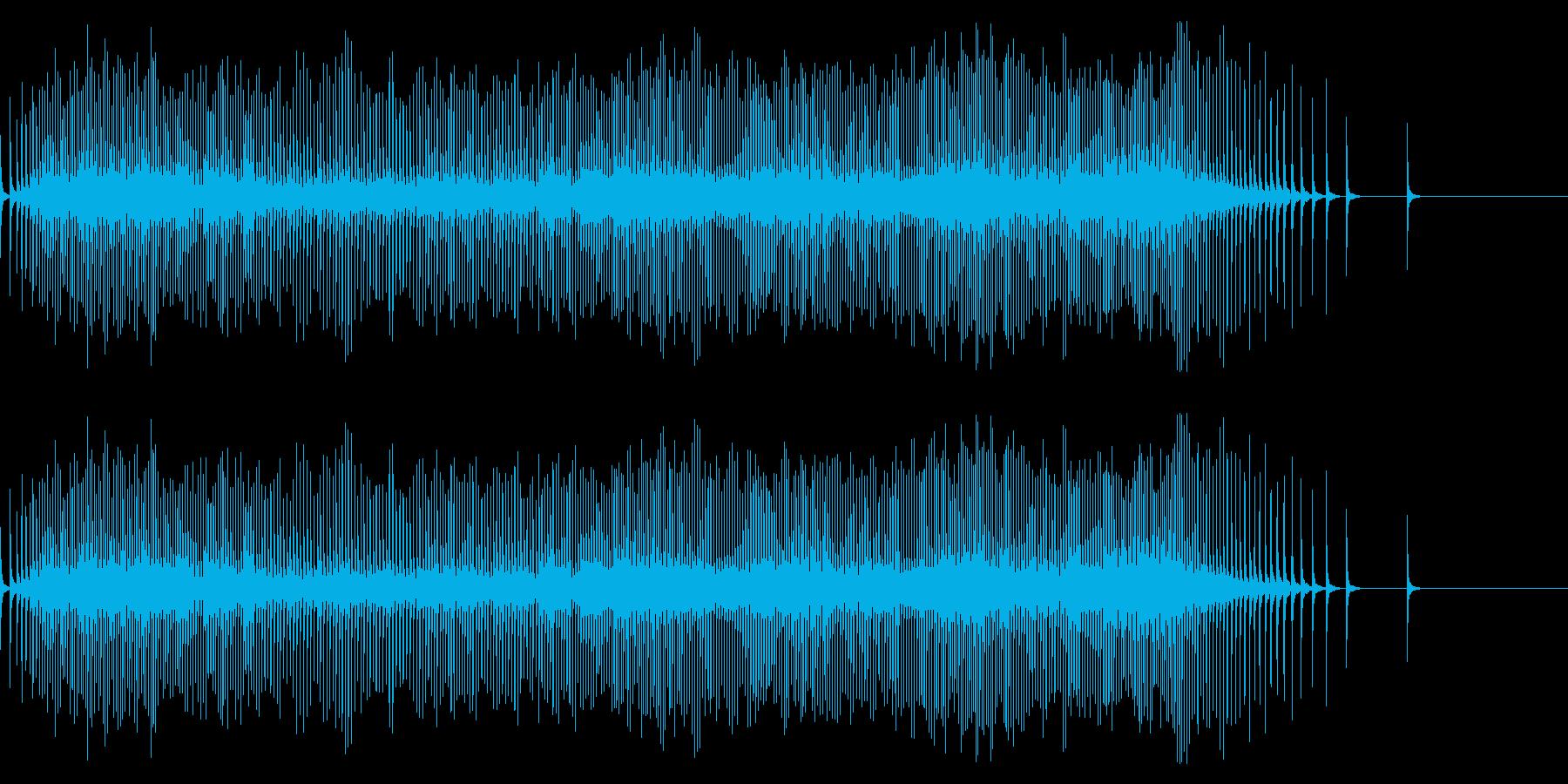 【生録音】リールの音 魚釣り 6の再生済みの波形