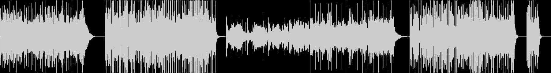不協和音を使ったプログレ風ギターインストの未再生の波形