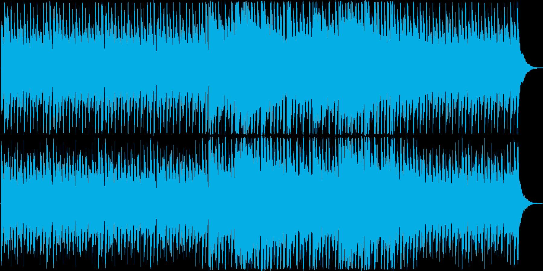 心がわくわくするようなポップな楽曲。の再生済みの波形