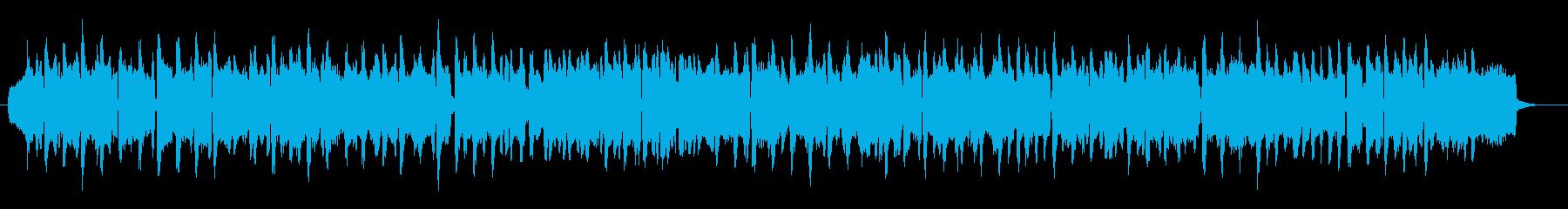 【アコーディオンのみの童話的BGM】の再生済みの波形