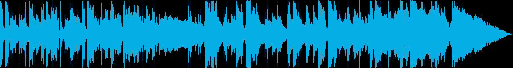 クールでリズミカルなジャズファンクの再生済みの波形