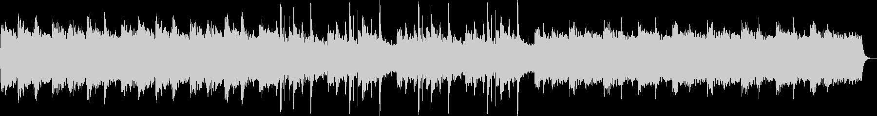 ゆっくりと優しいピアノシンセサウンドの未再生の波形