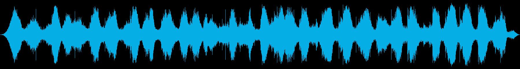 アゾフ海:重い間隔の波がやってくる、声の再生済みの波形