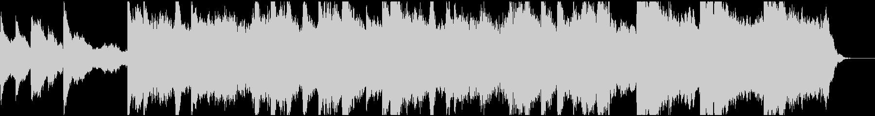 現代の交響曲 アンビエントミュージ...の未再生の波形