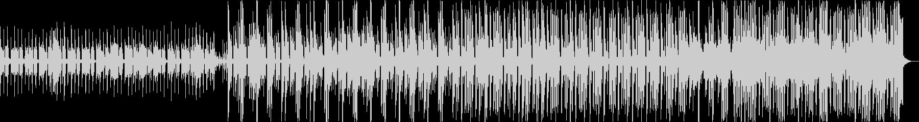 デジタルポップにアコースティックギターの未再生の波形