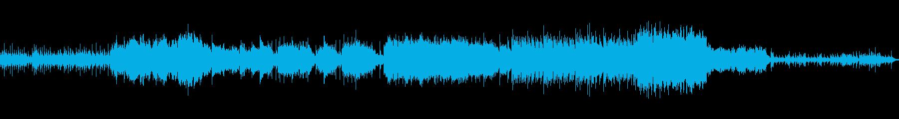 琴と笛による夏夜の星空のイメージの小曲の再生済みの波形