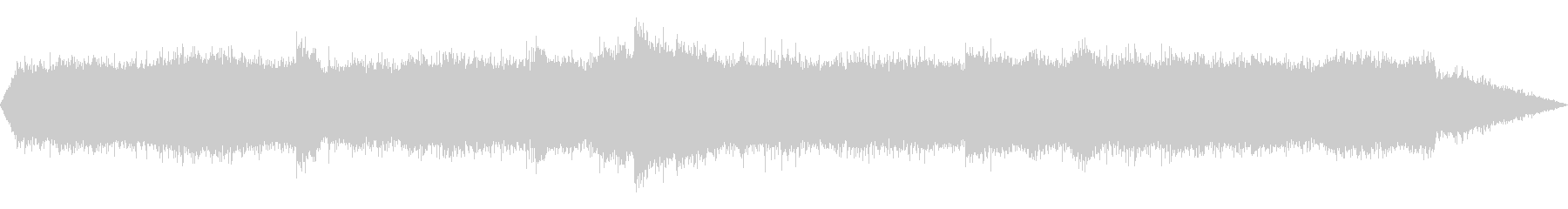 夏夜の風鈴と虫の音 01の未再生の波形