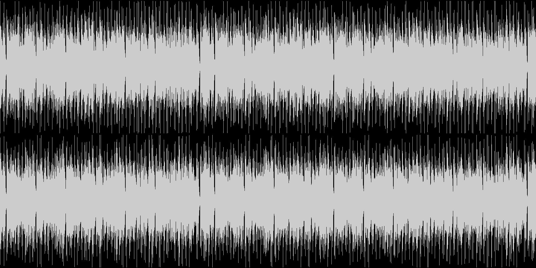 ピアノとアコギが爽やかなジャジーなループの未再生の波形