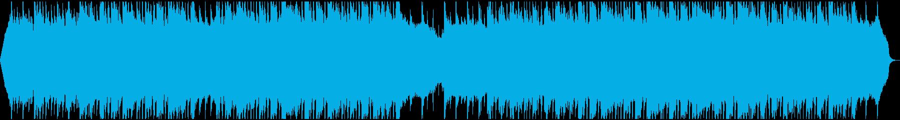 現代の交響曲 企業イメージ 広い ...の再生済みの波形