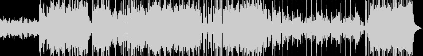 ポップな和太鼓の未再生の波形