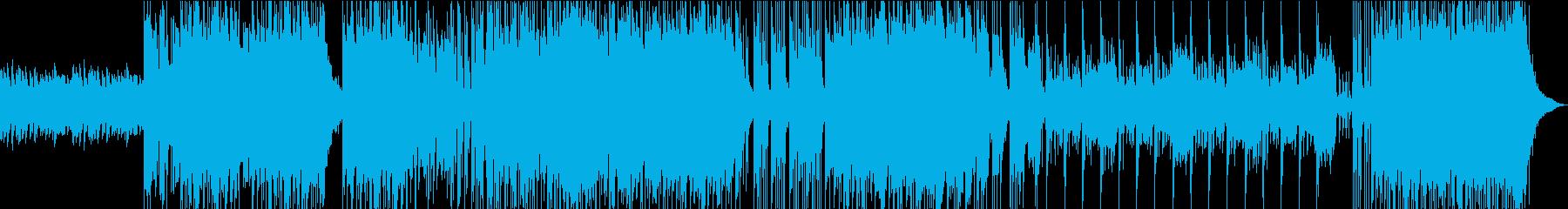 ポップな和太鼓の再生済みの波形