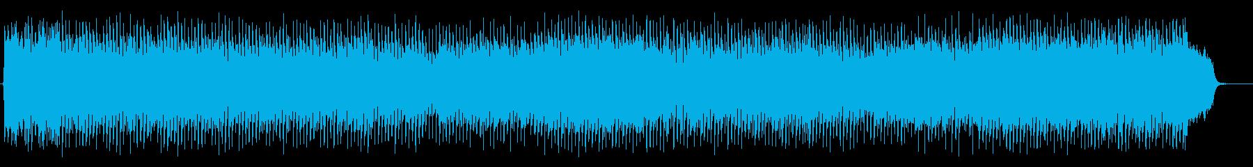 スローミドル8ビートの壮大な卒業ソングの再生済みの波形