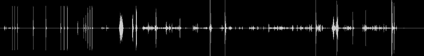 モノラル、タップ、吹くと動きでマイ...の未再生の波形