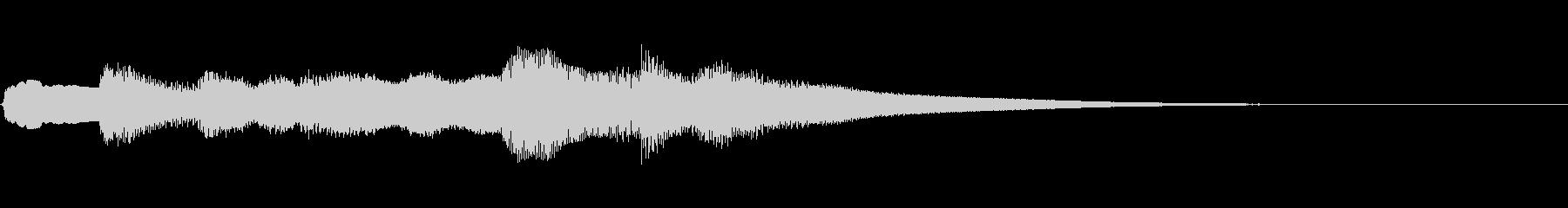 【ジングル】ミステリー/ファンタジーの未再生の波形