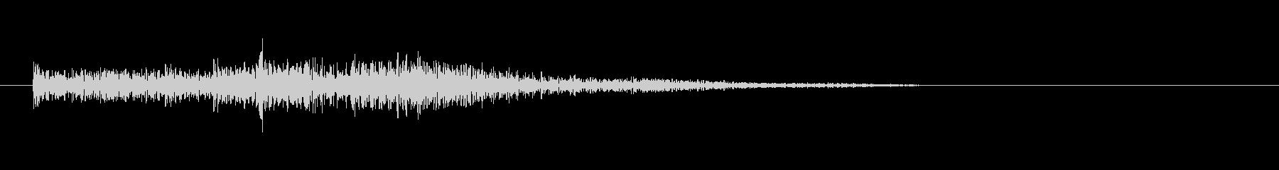 Drums、Toms、Type D...の未再生の波形