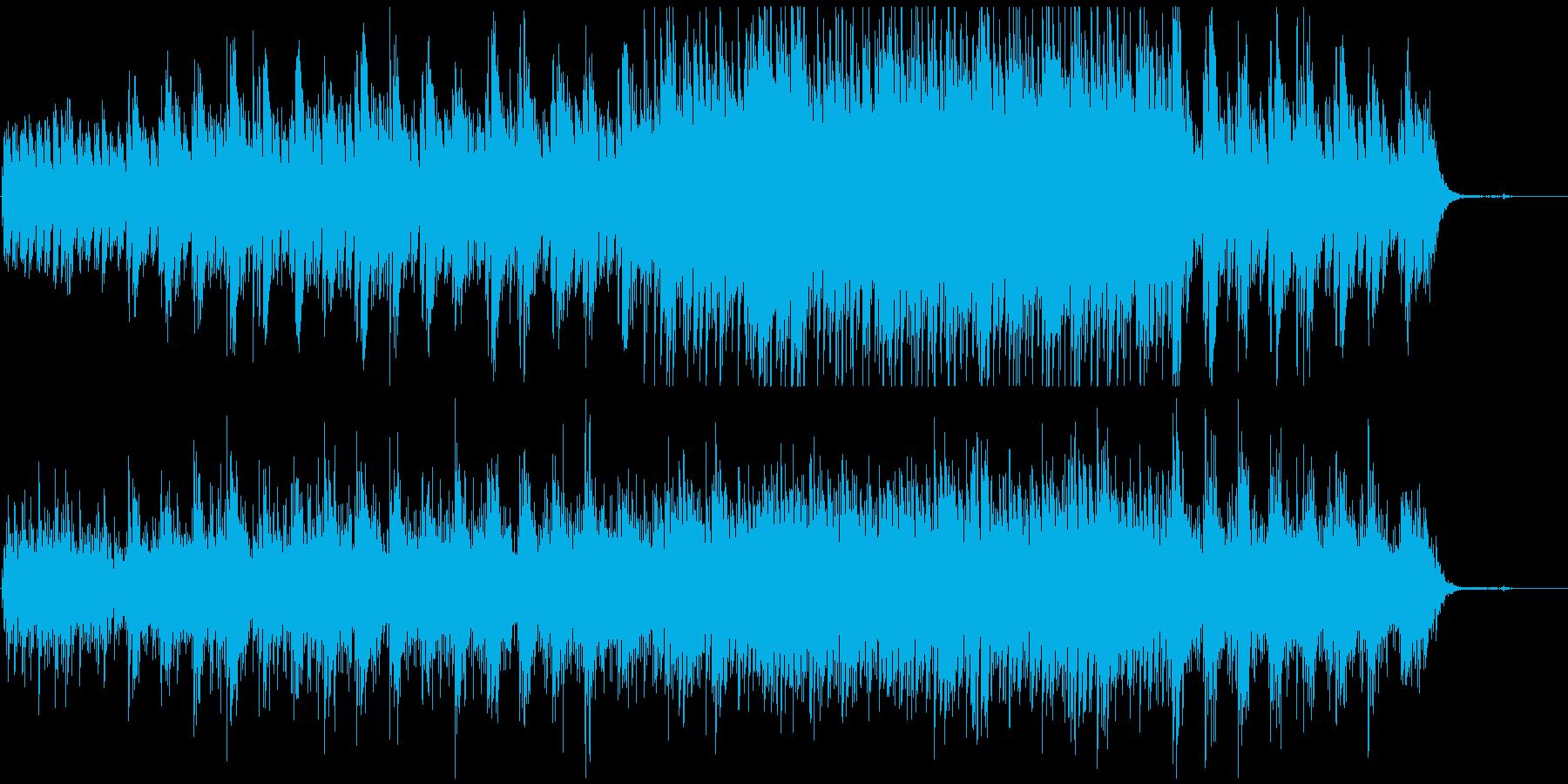 浮遊感のある映像、CMにの再生済みの波形