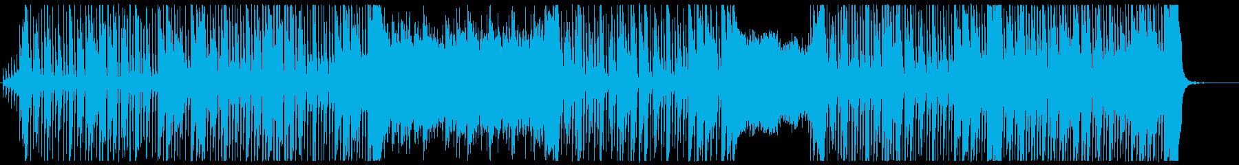 かわいいエレクトロ・ドリームポップの再生済みの波形