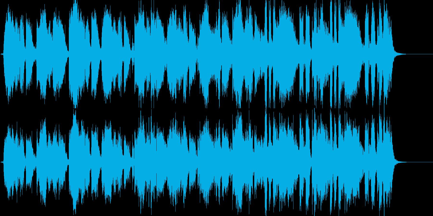 切ない雰囲気のポップアカペラの再生済みの波形