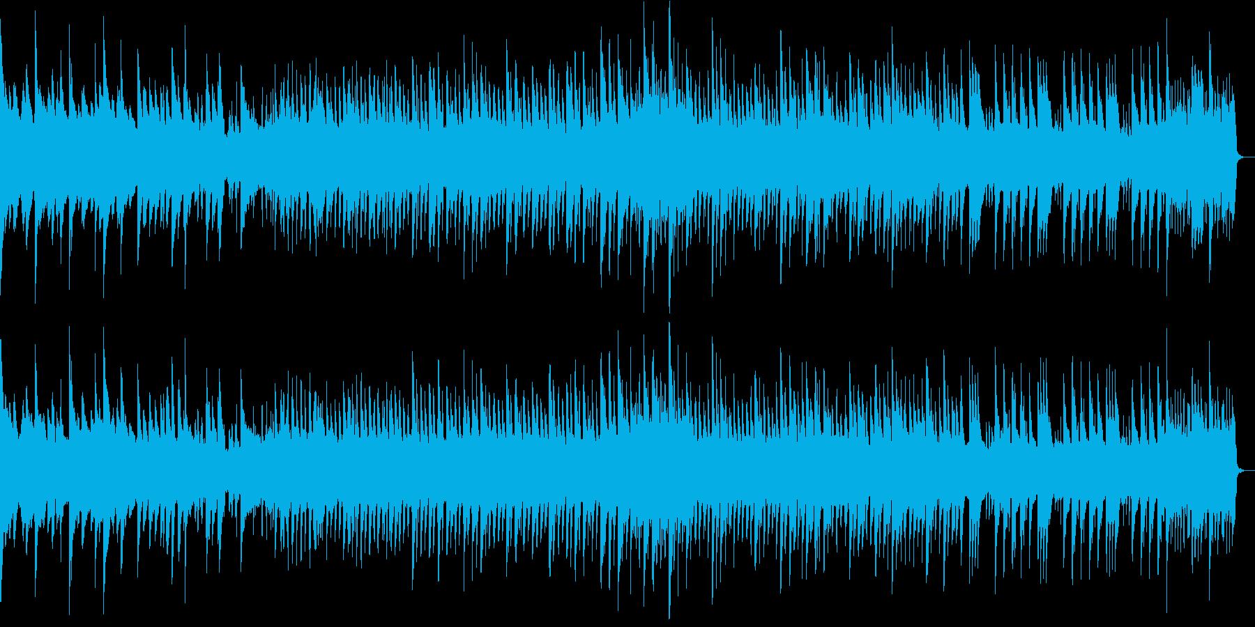 8bit 切なくファンタジー 1コーラスの再生済みの波形