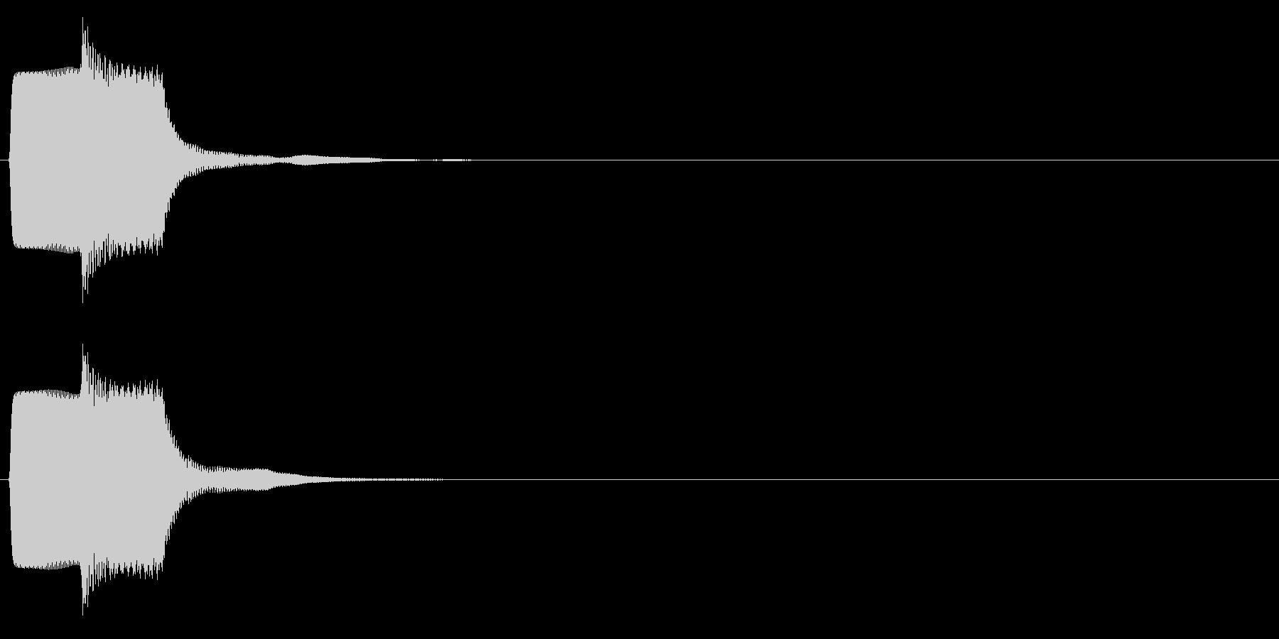 ピコン_矩形波(終了,停止,通知)_03の未再生の波形