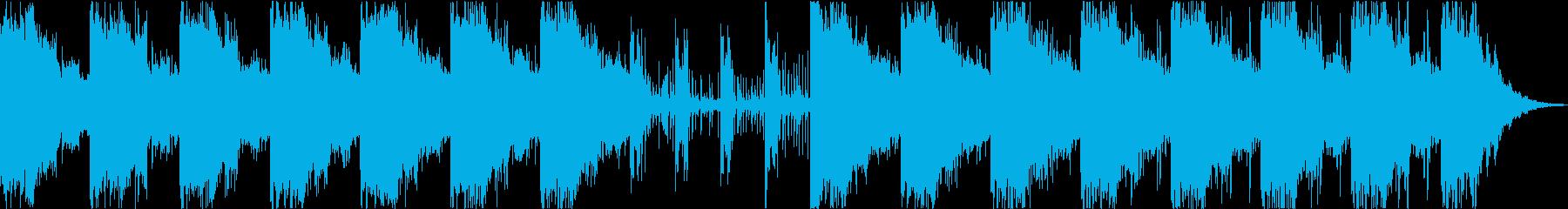 奇妙不思議なミステリアスエレクトロBGMの再生済みの波形
