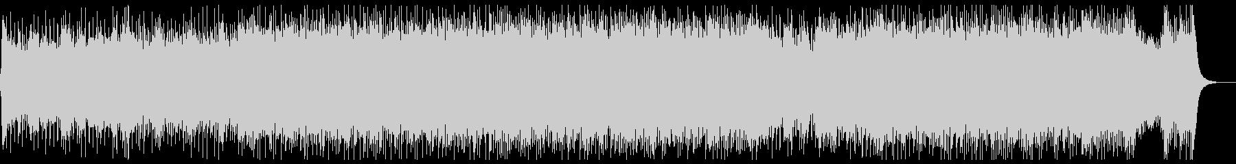ダークな和風ロック:三味線・尺八・箏・鼓の未再生の波形