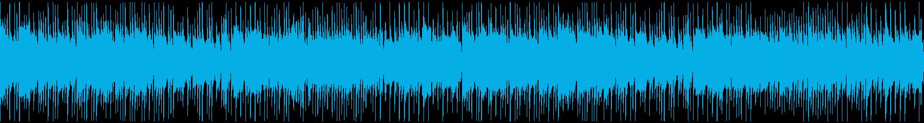 落ち着いた日常のアコースティック曲の再生済みの波形