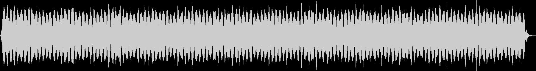 瞑想的な器楽の未再生の波形