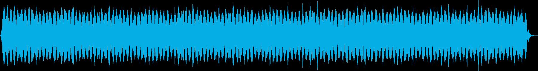 瞑想的な器楽の再生済みの波形