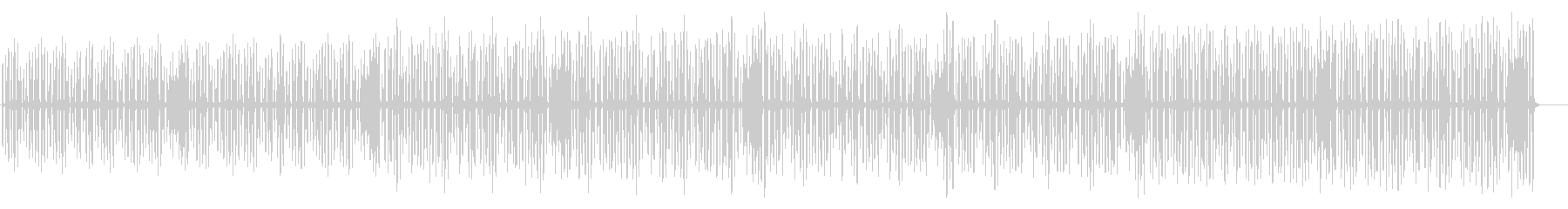 ほのぼの・マーチ風リコーダ曲の未再生の波形