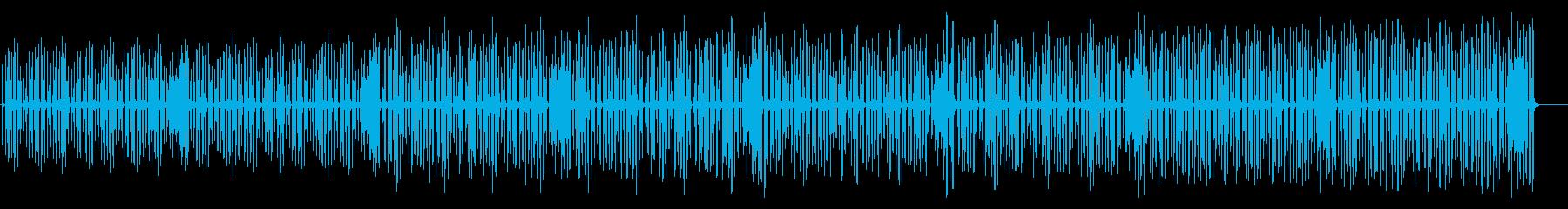ほのぼの・マーチ風リコーダ曲の再生済みの波形