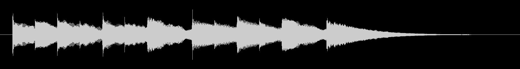 ハイケンスのセレナーデのオルゴールの未再生の波形