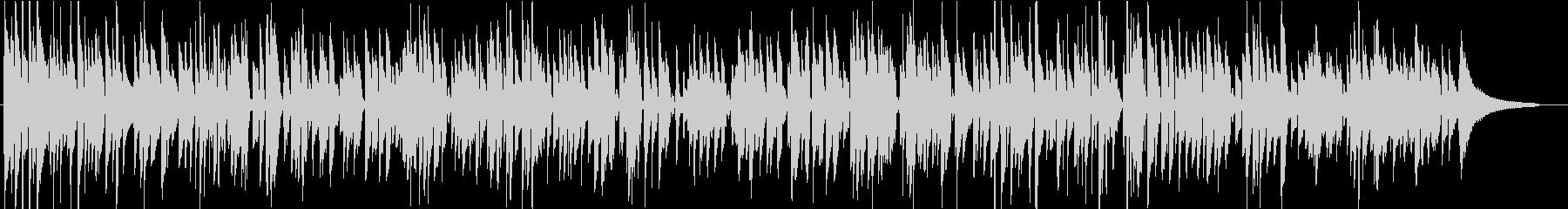 憂いを帯びたクラシックギターのボサノバ曲の未再生の波形
