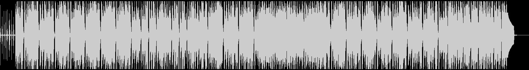 シロフォンとアコギの可愛いポップなBGMの未再生の波形