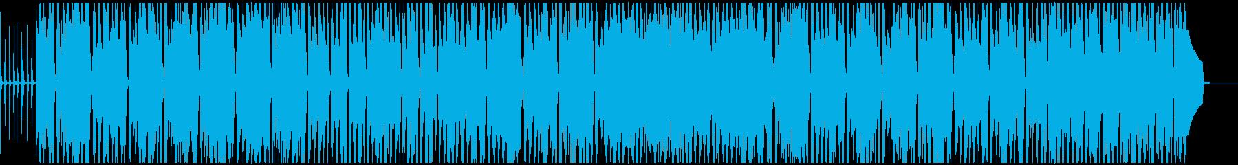 シロフォンとアコギの可愛いポップなBGMの再生済みの波形