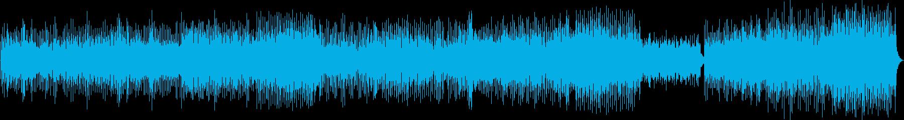 夏を連想させる透明感あるトロピカルBGMの再生済みの波形