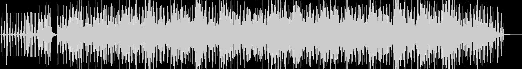 静かなエレクトロミニマルハウスの未再生の波形