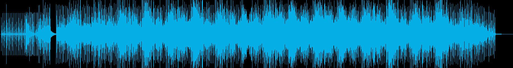 静かなエレクトロミニマルハウスの再生済みの波形