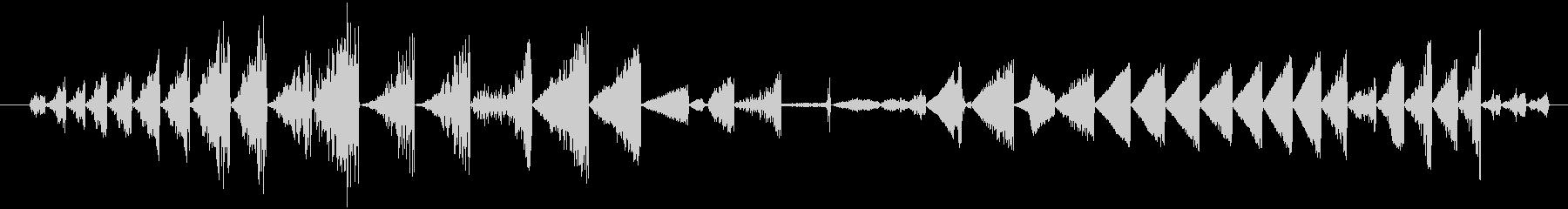 イメージ グリッチトークFX 01の未再生の波形