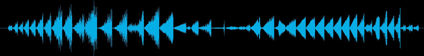 イメージ グリッチトークFX 01の再生済みの波形