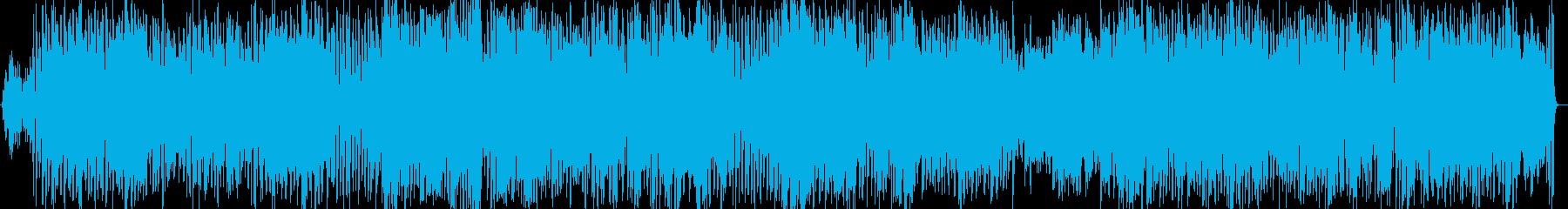 サビが頭に残る、ほのぼのアコースティックの再生済みの波形