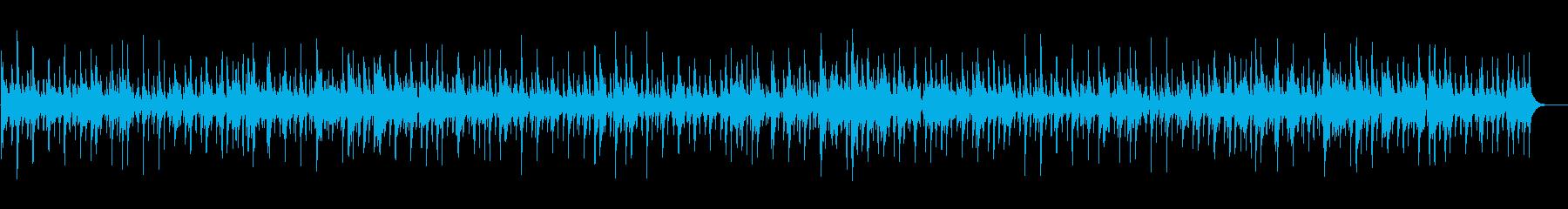 ほのぼのバンジョーのカントリーワルツの再生済みの波形