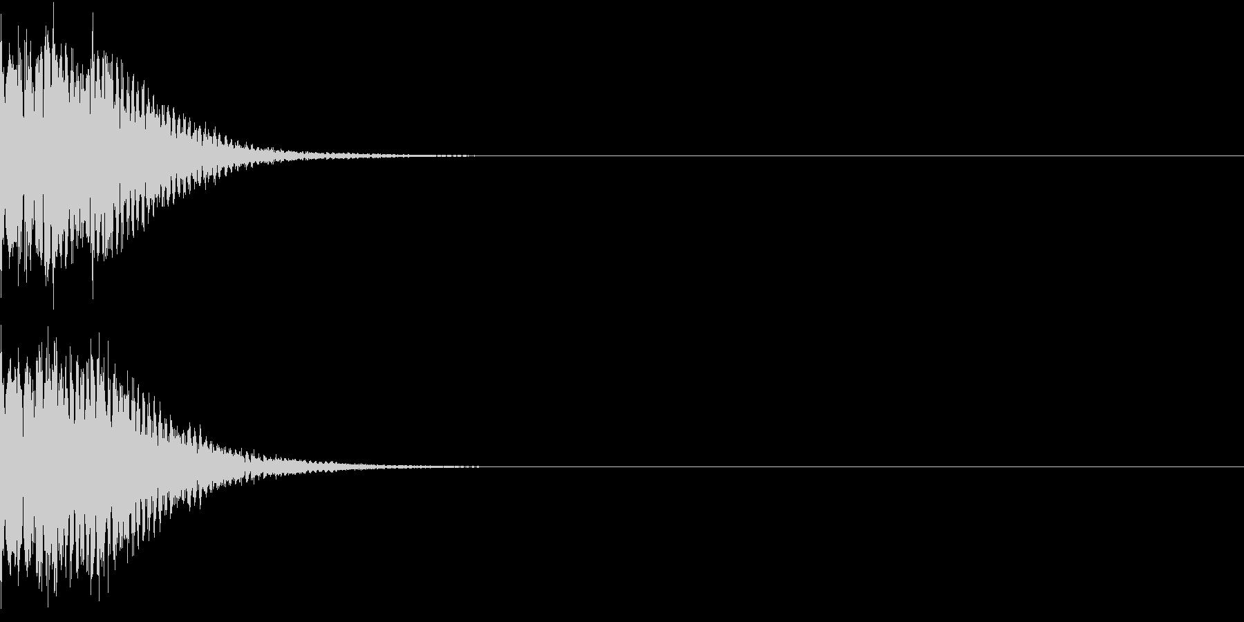 光る キュイーン ピカーン キラン 02の未再生の波形