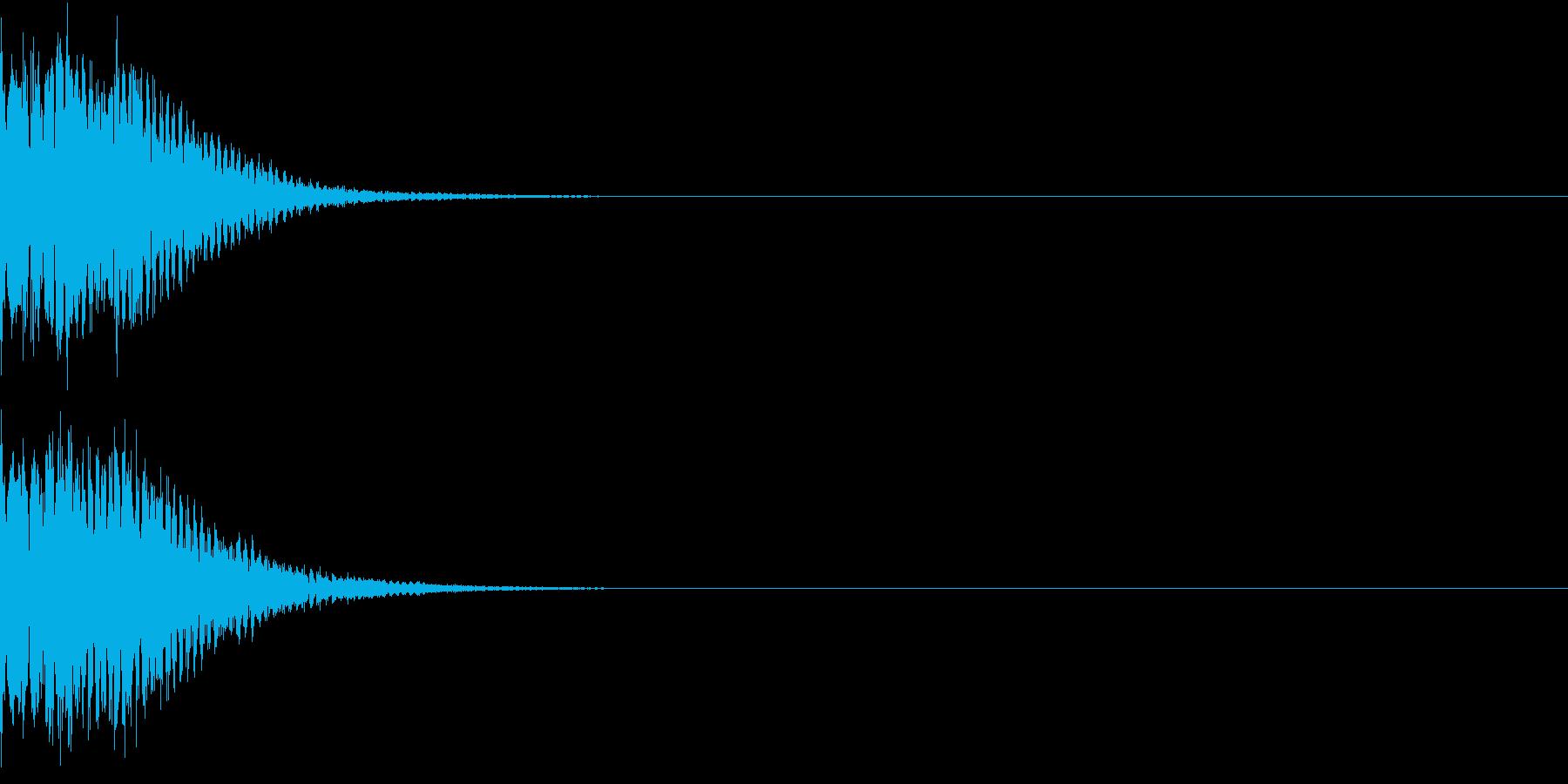 光る キュイーン ピカーン キラン 02の再生済みの波形