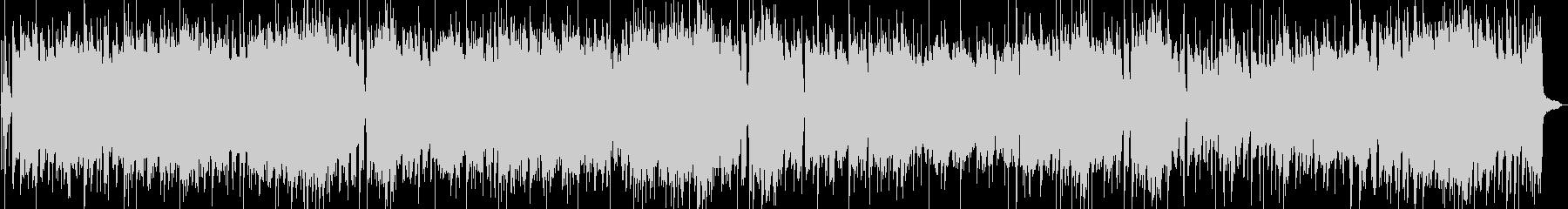 エレキギターのブルースロックロングVerの未再生の波形