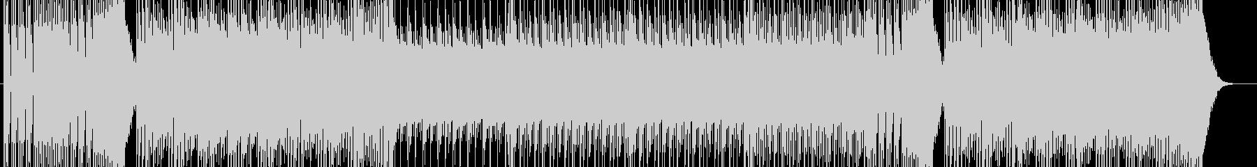 シンプルなベースサウンドの未再生の波形