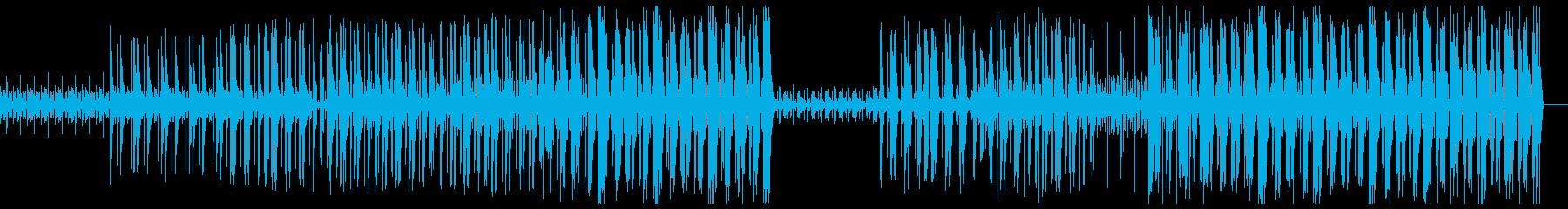 ダーク 不思議 トラップビートの再生済みの波形