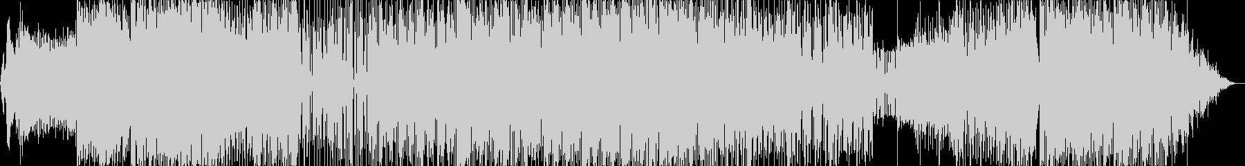 プログレッシブハウス。ループ溝と周...の未再生の波形
