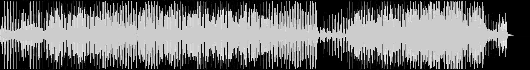 ピアノを基調としたミニマルテクノ/ハウスの未再生の波形