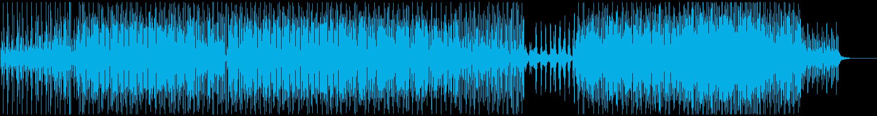 ピアノを基調としたミニマルテクノ/ハウスの再生済みの波形